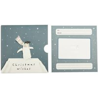M&S Penguin in Scarf Gift Card - 300