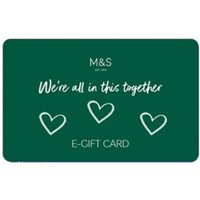 M&S All in this Together Volunteer E-Gift Card - 500