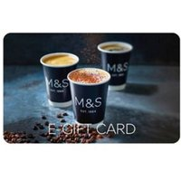 M&S Coffee Photographic E-Gift Card - 150