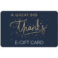 M&S Great Big Thanks E-Gift Card - 50