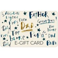 M&S Dad Text E-Gift Card - 40