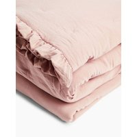 MandS Washed Quilted Bedspread - MED - Nude Pink, Nude Pink