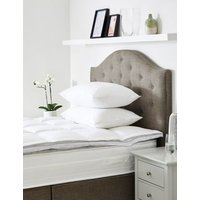 MandS Goose Feather and Down Mattress Topper - 5FT - White, White