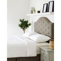 M&S Comfortably Cool 10.5 Tog Duvet - SGL - White, White