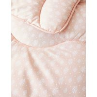 M&S 10.5 Tog Coverless Duvet & Pillowcase - SGL - Nude Pink, Nude Pink
