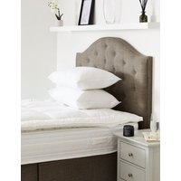 MandS Duck Feather and Down Mattress Topper - 6FT - White, White