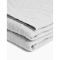MandS Quilted Pinsonic Bedspread - MED - Neutral, Neutral
