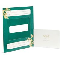 M&S Gold Wreath Gift Card - 400