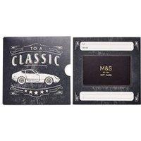 M&S Classic Car Gift Card - 350