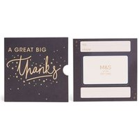 M&S Navy Thank You Gift Card - 500