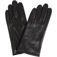 MandS Womens Leather Gloves - Black, Black