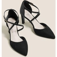 MandS Womens Wide Fit Stiletto Heel Court Shoes - 3 -