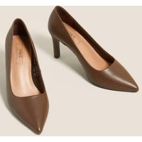 MandS Womens Stiletto Heel Pointed Court Shoes - 5.5 -