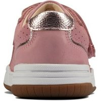 M&S Clarks Girls Unisex Kids' Riptape Trainers (Kid size 10-2.5) - 10G - Pink, Pink