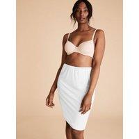 M&S Womens 2pk Assorted Waist Slips - 819 - White, White,Black Mix