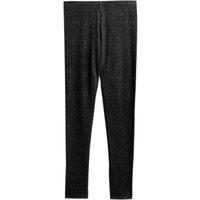 M&S Womens Heatgen Plustm Fleece Thermal Leggings - 6 - Black, Black