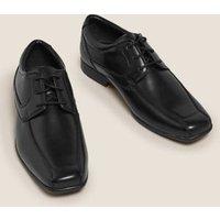 M&S Mens Derby Shoes - 6 - Black, Black