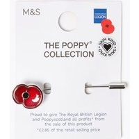 M&S Mens Poppy Collection® Poppy Lapel Pin - 1SIZE - Red Mix, Red Mix