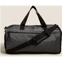 MandS Mens Sports Holdall - 1SIZE - Grey Mix, Grey Mix