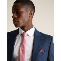 M&S Mens Big & Tall Regular Fit Jacket with Stretch - 48XL - Indigo, Indigo