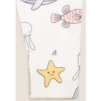 M&S Girls 3pk Organic Cotton Animal Sleepsuits (7lbs - 3 Yrs) - TINY - Multi, Multi