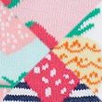 M&S Girls 5pk Cotton Fruit Socks - 12+3+ - Multi, Multi