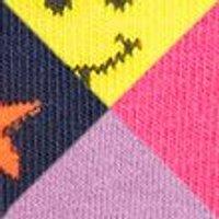 M&S Girls 5pk Cotton Rainbow Socks - 12+3+ - Multi, Multi