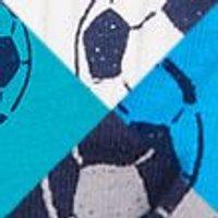 M&S Boys 7pk Cotton Football Briefs (2-16 Yrs) - 15-16 - Blue Mix, Blue Mix