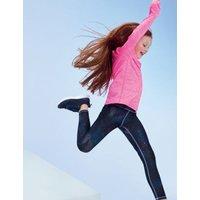 M&S Girls Printed Sports Leggings (6-16 Yrs) - 6-7 Y - Black Mix, Black Mix