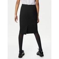 MandS Girls Girls Long Pencil School Skirt (9-16 Yrs) - 14-15 - Black, Black