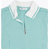 MandS Girls Girls Gingham Pleated School Dress (2-14 Yrs) - 10-11 - Green, Green,Light Blue,Mid Blue,Pink,Yellow,Lilac,Navy,Red