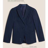 MandS Girls Girls Slim Fit School Blazer (9-16 Yrs) - 10-11 - Navy, Navy,Black