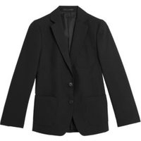 MandS Girls Girls School Blazer (9-16 Yrs) - 15-16 - Black, Black,Navy
