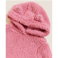 M&S Girls Novelty Hoodie (2-7 Yrs) - 3-4 Y - Pink, Pink