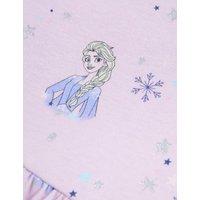 M&S Girls Pure Cotton Disney Frozentm Dress (2-10 Yrs) - 3-4 Y - Lilac, Lilac