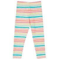 M&S Girls Cotton Striped Leggings (2-7 Yrs) - 2-3 Y - Multi, Multi