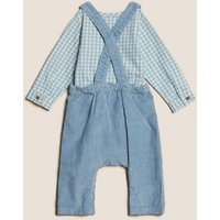 MandS Boys 2pc Pure Cotton Peter Rabbit™ Outfit (0-3 Yrs) - 0-3 M - Navy Mix, Navy Mix
