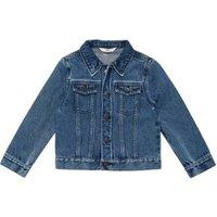 M&S Boys Pure Cotton Western Denim Jacket (2-7 Yrs) - 2-3 Y - Dark Indigo, Dark Indigo