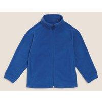 M&S Unisex Boys Girls Unisex Zip Fleece (2-16 Yrs) - 2-3 Y - Royal Blue, Royal Blue,Navy,Red,Grey Ma