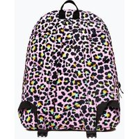 M&S Hype Unisex Kids' Leopard Print Backpack (5+ Yrs) - 1SIZE - Pink Mix, Pink Mix