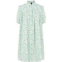 M&S Y.A.S Womens Organic Cotton Knee Length Shirt Dress - Multi, Multi