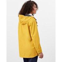MandS Joules Womens Pure Cotton Waterproof Raincoat - 6 - Antique Gold, Antique Gold