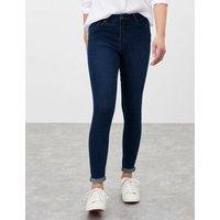 M&S Joules Womens High Waisted Super Skinny Jeans - 8 - Indigo, Indigo