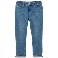 M&S Joules Womens High Waisted Super Skinny Cropped Jeans - 8 - Light Denim, Light Denim