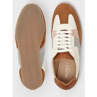 M&S Hobbs Womens Lace Up Suede Panel Trainers - 36 - Brown Mix, Brown Mix