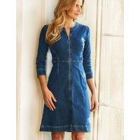 M&S Sosandar Womens Denim Dress - 8 - Indigo, Indigo
