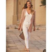 MandS Sosandar Womens Knitted Longline Cardigan - XS - Pink, Pink