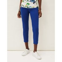 M&S Phase Eight Womens Straight Leg Cropped Jeans - 10 - Blue, Blue