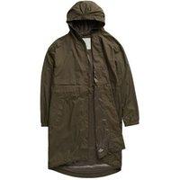 MandS Seasalt Cornwall Womens Longline Relaxed Utility Raincoat - 10 - Green, Green