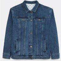 M&S White Stuff Womens Denim Jacket - 8 - Blue Denim, Blue Denim